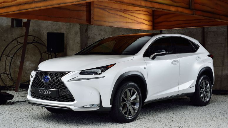 Lexus NX Named Top Compact SUV in U.S. News Best Cars for the Money
