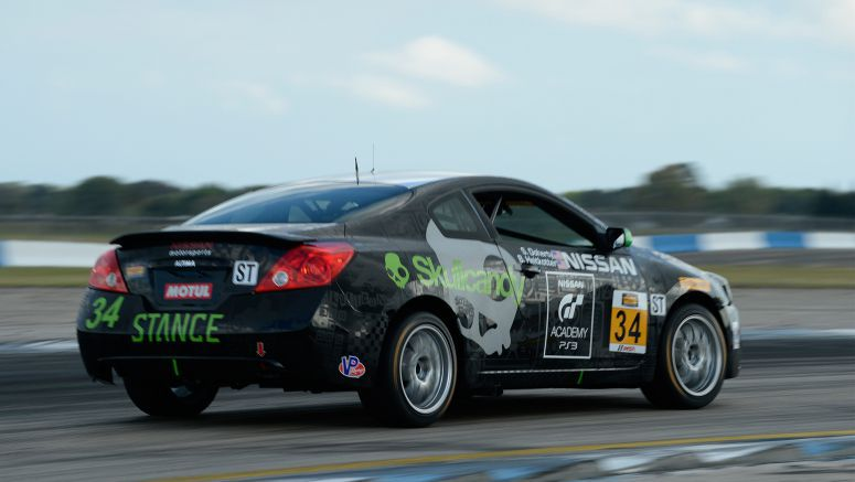 Nissan GT Academy champions team up to race Altima for the 2014 Continental Tire SportsCar Challenge season