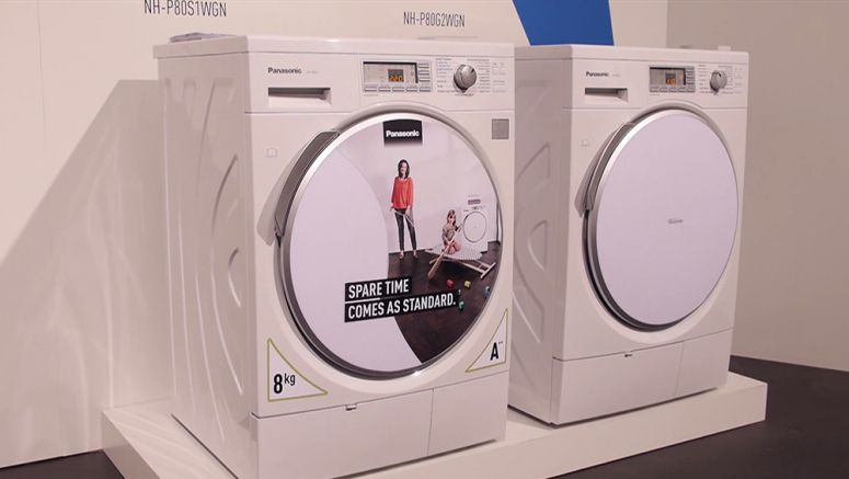 VIDEO : Panasonic Convention 2014 - Tumble Dryer Range