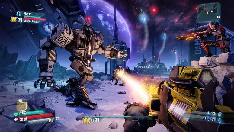 Sony Borderlands: The Pre-Sequel Revealed for PS3