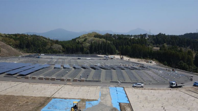 Daiwa House Building 1.8MW Solar Plant in Housing Subdivision
