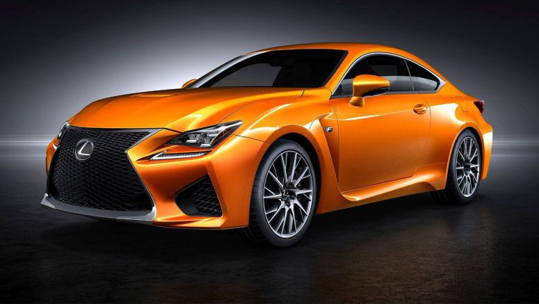 Officially name the new orange Lexus RC F colour in the UK
