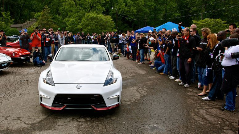 "2015 Nissan 370Z NISMO makes surprise world debut at North Carolina ""ZDAYZ"" event"