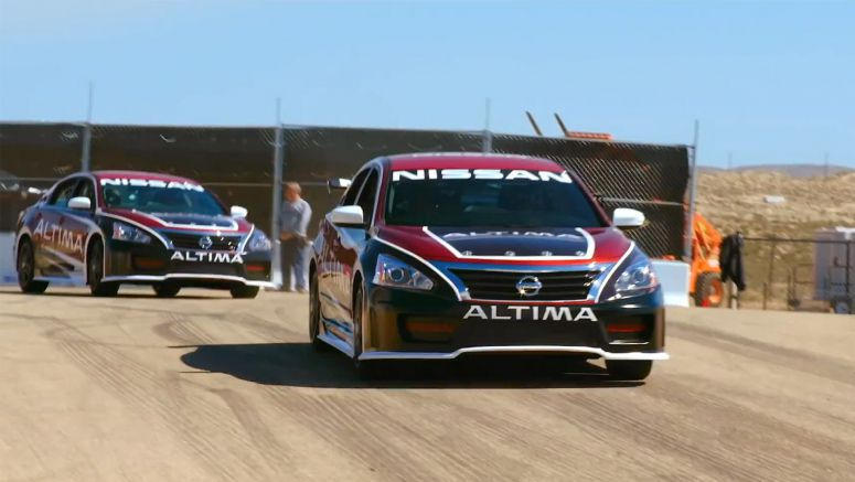 Nissan 'Ride of Your Life' campaign turns an Altima into a race car