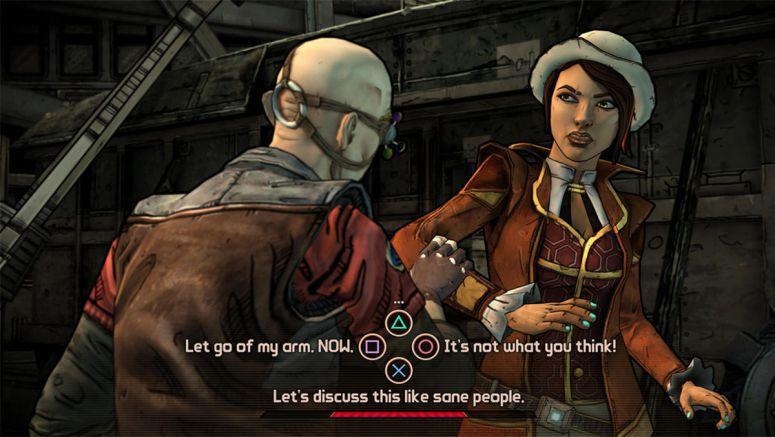 Sony : Tales from the Borderlands: First Screenshots Revealed
