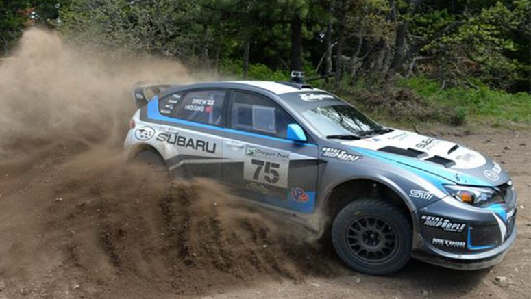 David Higgins Wins 2014 Oregon Trail Rally, Travis Pastrana 2nd in 1-2 Finish for Subaru Rally Team USA