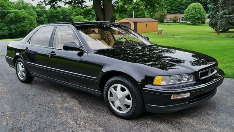 1991 Acura Legend with Only 9,000 Miles