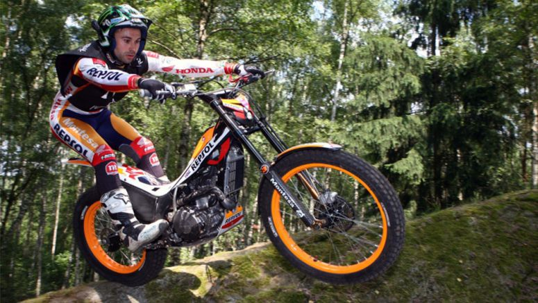 Honda Racing Corporation Renews Contract with Toni Bou until End of 2018