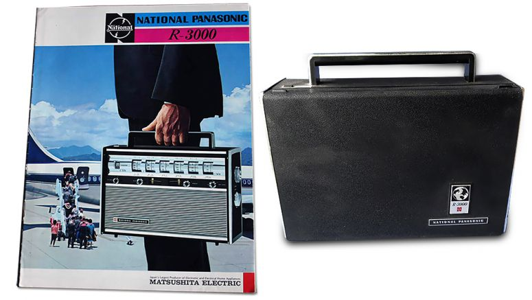 Panasonic Flashback Friday – portable music sure has changed its tune!