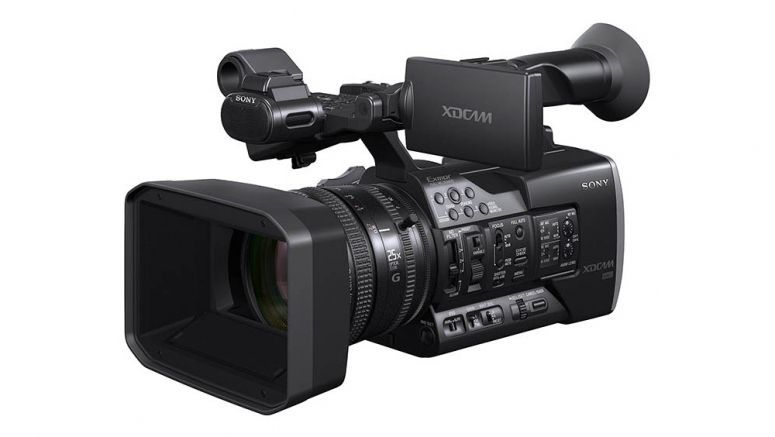 Sony XAVC format compliant XDCAM professional video camera