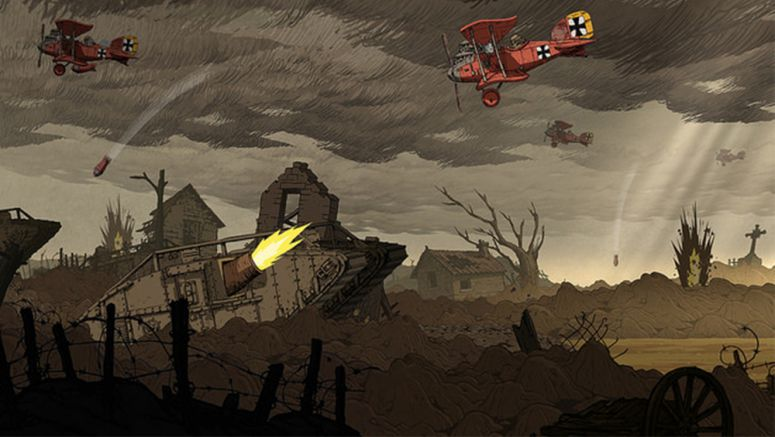 Sony : Valiant Hearts: Historical Research & The Dogs In The Trenches