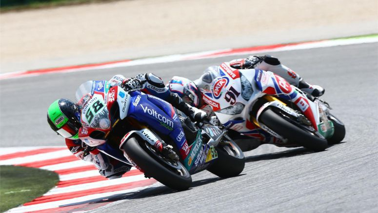 Suzuki : Laverty Fights-Back Injury At Misano WSB
