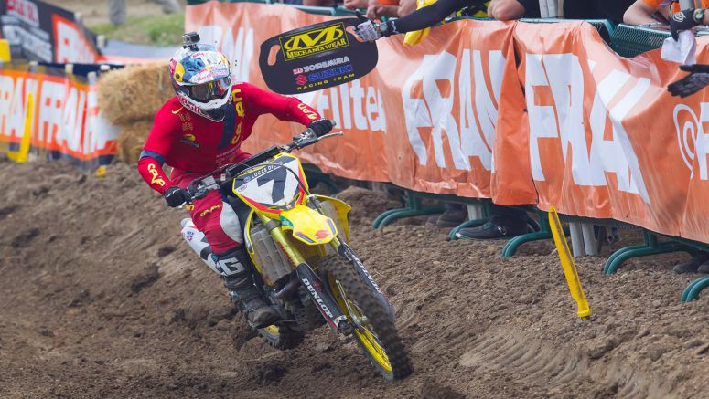 Suzuki : Stewart 2nd At Thunder Valley MX