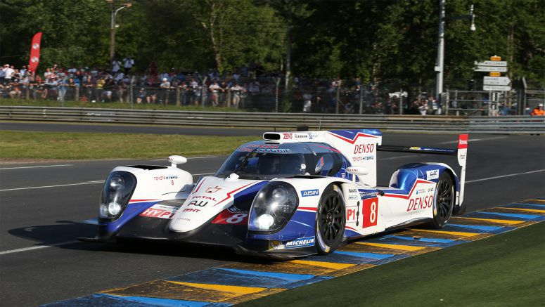 Toyota Takes Record Breaking Pole At Le Mans
