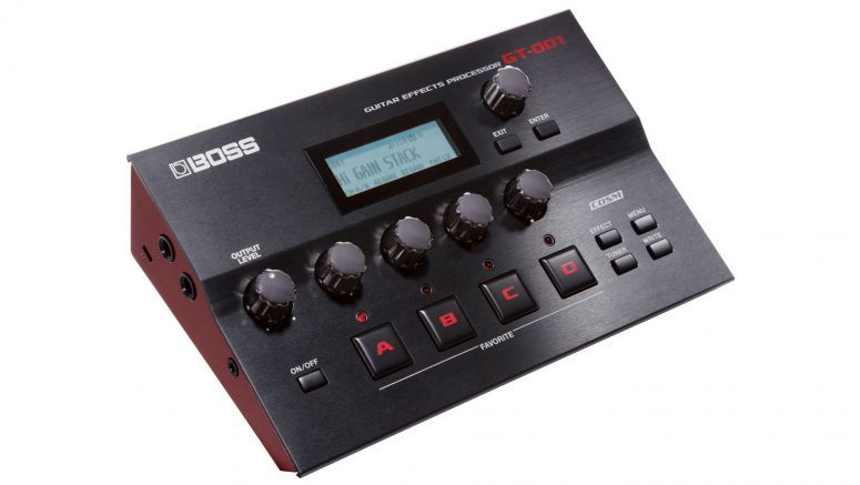 Roland GT-001 Guitar Effects Processor