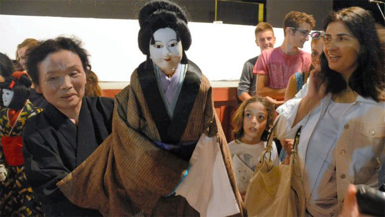 Kumamoto puppeteers perform on Greek island to honor author Lafcadio Hearn