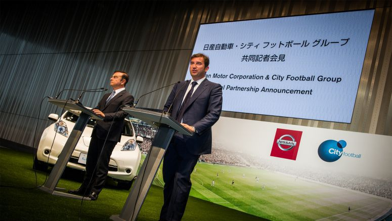 Nissan and City Football Group establish global football partnership