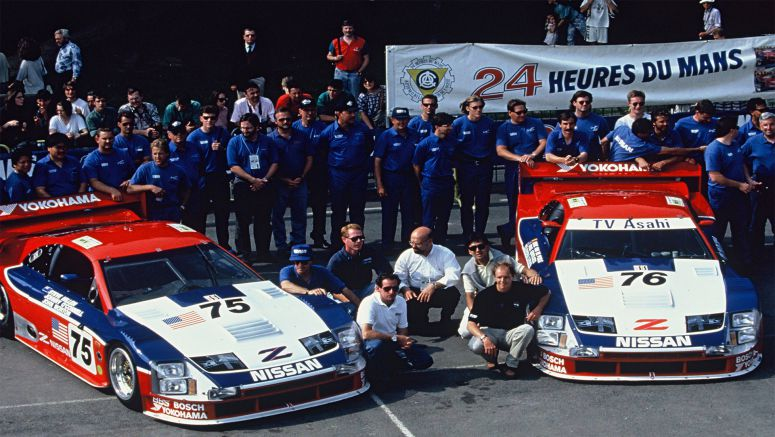"Nissan ready to ""party like it's 1994"" Le Mans winning No. 75 Nissan 300ZX race car set for Monterey Motorsports Reunion"
