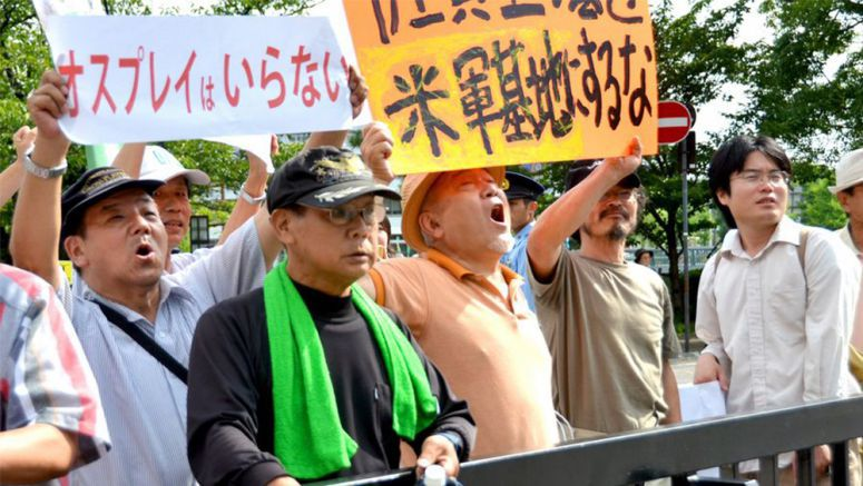 Plan to station Osprey in Saga part of Abe's political power play