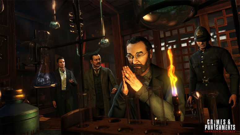 Sony : 4 Things You Need to Know About Sherlock Holmes on PS4
