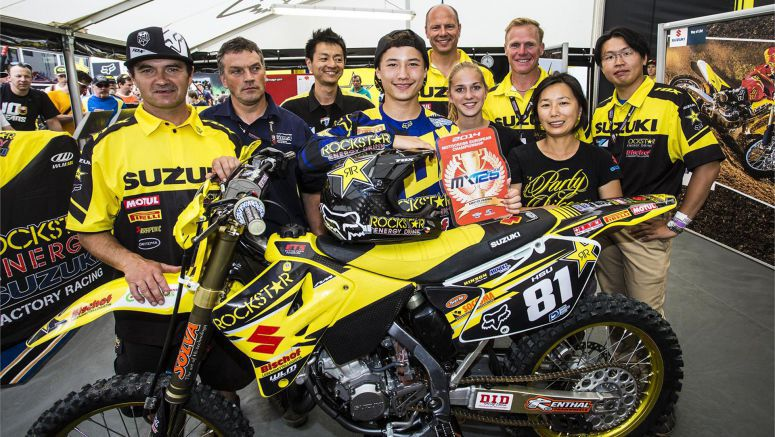 Suzuki : HSU Takes EMX125 Red Plate With Loket Win