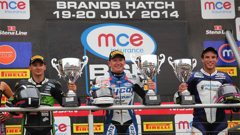 Tyco Suzuki's Brands Hatch Win Video