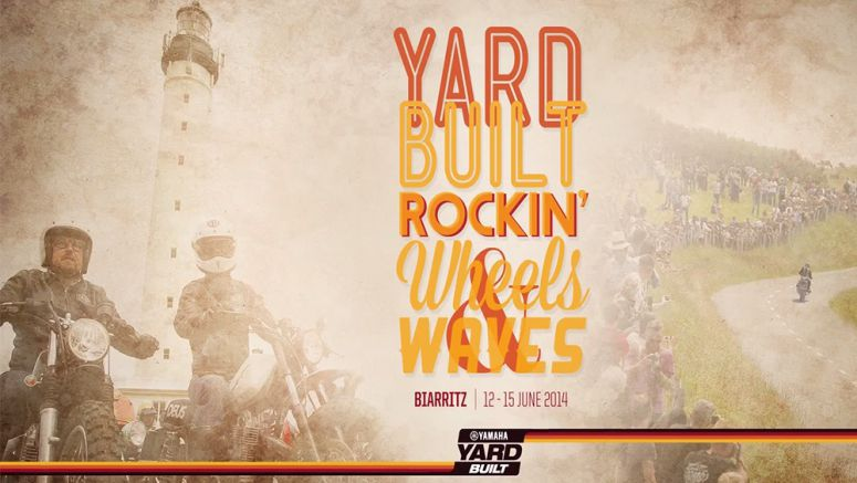 VIDEO : Yamaha Yard Built Rocks Wheels & Waves 2014