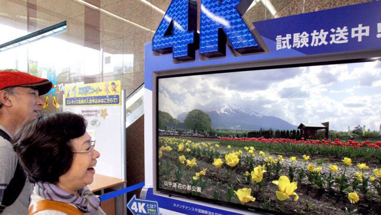 High definition 4K TV broadcasts slated for 2018 ahead of Olympics