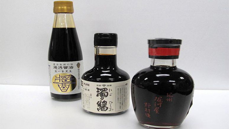 Home of soy sauce, Wakayama offers numerous varieties