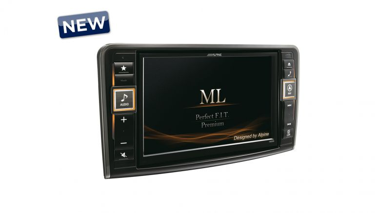 Alpine Premium Infotainment System for Mercedes-Benz ML (W164) and GL (X164) X800D-ML