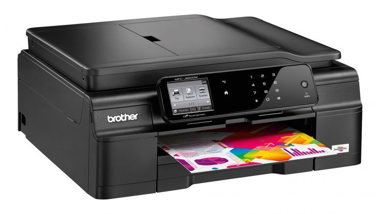 Brother Wireless Colour Inkjet All-in-One with Fax MFC-J650DW