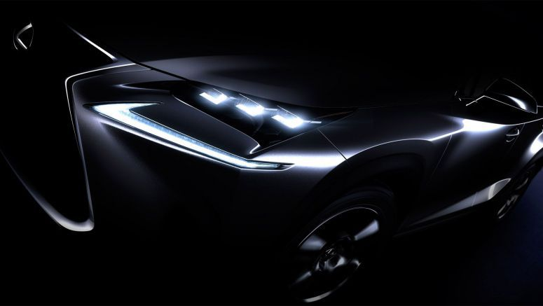 Inspired by the Lexus NX : Striking design meets bold creativity
