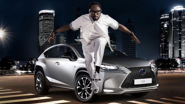 Will.i.am adds an edge to Lexus NX Striking Angles campaign