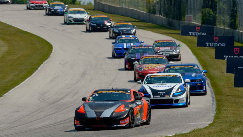 Nissan : Doran Racing 370Z NISMOs earn top 10 finishes at Road America