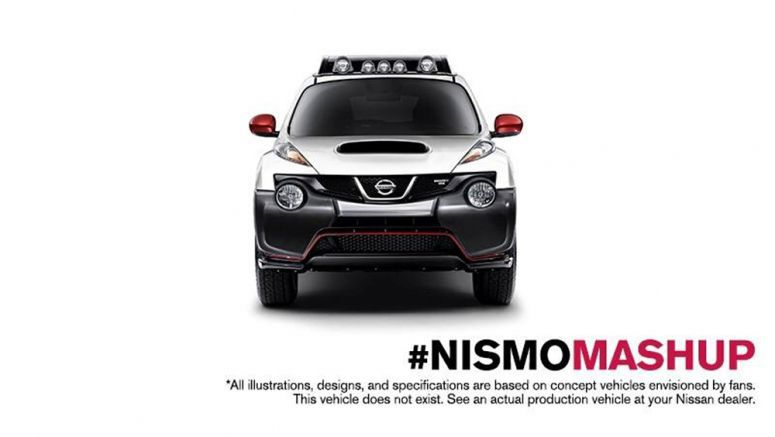 Nissan Xterra and Juke NISMO Mashup Looks Awesome