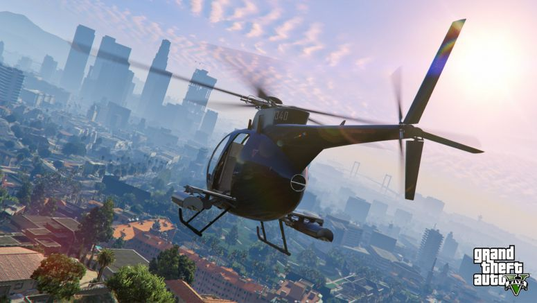 Sony : Grand Theft Auto V on PS4: Introducing All-New First Person Mode