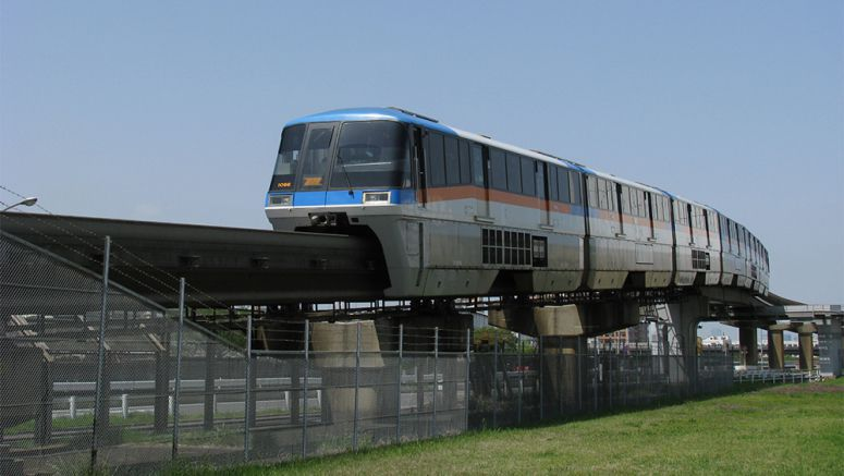 Monorail serving Tokyo's Haneda airport marks 50th anniversary