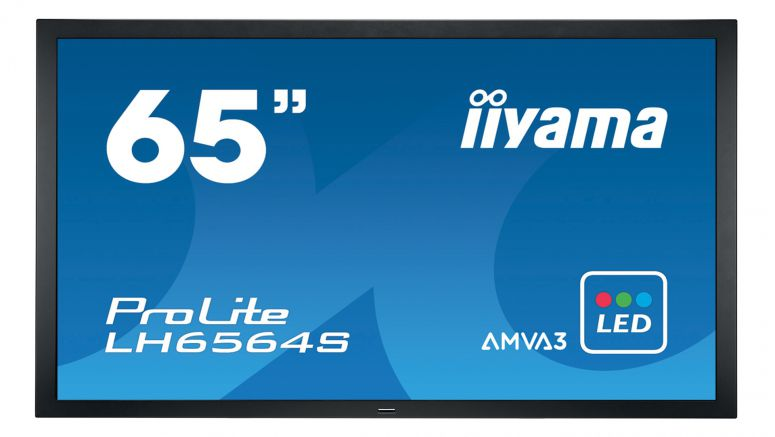 Iiyama Introduces New 55-inch and 65-inch Large Format Displays