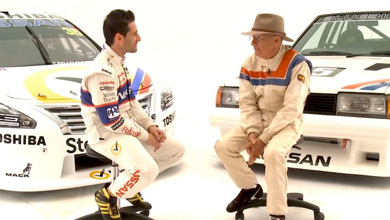 Nissan : Altima V8 Supercar driver Michael Caruso interviews two-time Australian rally champion George Fury