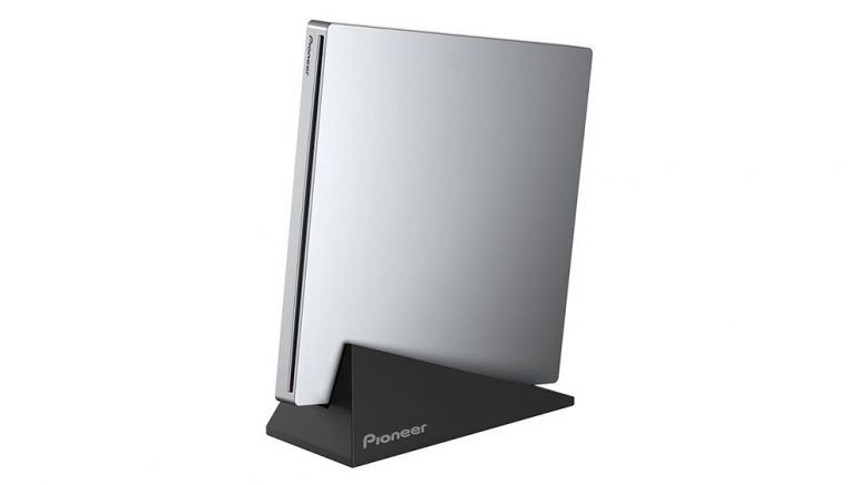 Pioneer The thinnest portable slot load BD drive in the world