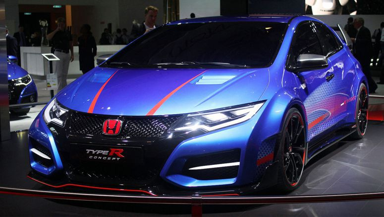 2014 Paris Motor Show : Honda Civic Type R Concept