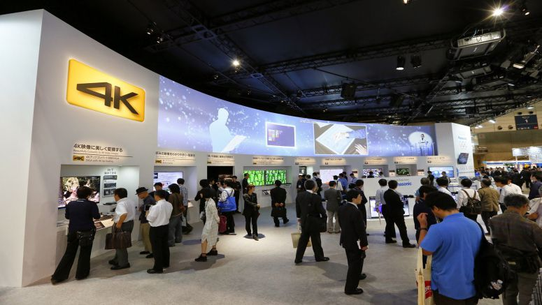 CEATEC JAPAN 2014 Panasonic's Highlights:4K WORLD Bringing 4K into Every Part of Our Lives