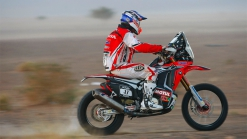 Honda : Bang Bang Barreda takes command of a treacherous OiLibiya Rally of Morocco