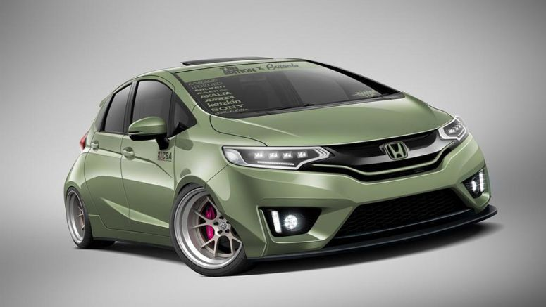 Tjin Edition Honda Fit Previewed for SEMA 2014