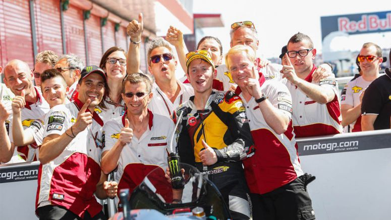 Honda Moto2 : Tireless Rabat's hard work takes him to the top Malaysia 2014