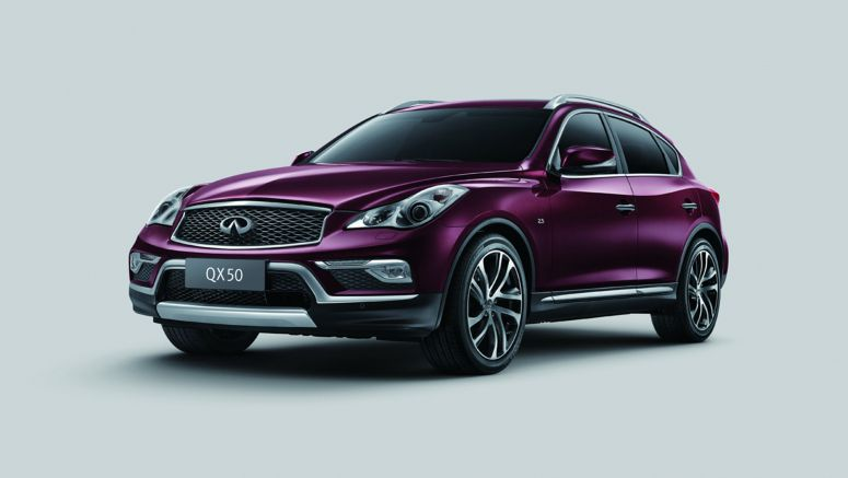 China Gets Longer QX50 with Updated Styling
