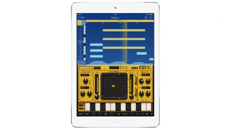 All KORG apps now support iOS 8