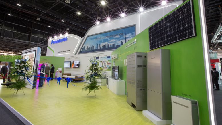 Panasonic Displays Smart & Sustainable Technology Solutions at GITEX 2014