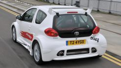 Toyota Aygo Crazy and Corolla GT Coupe at Goodwood's Hot Hatch Sunday