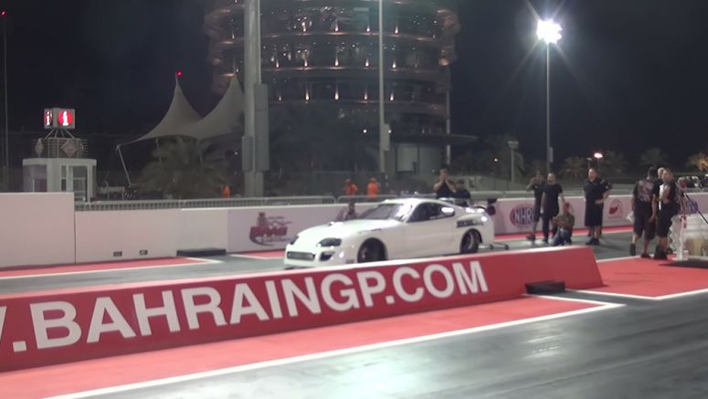 If You Blink You Might Miss Toyota Supra's 1/4 Mile Record